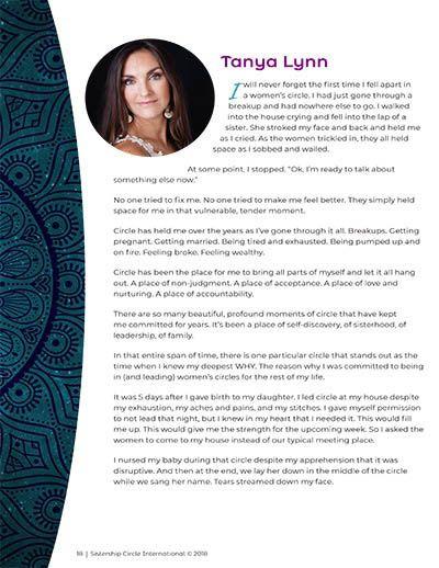 Women's Circle Ritual Handbook: 3