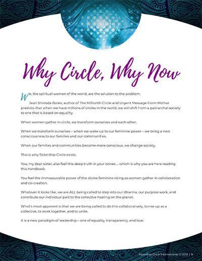 Women's Circle Ritual Handbook: 6